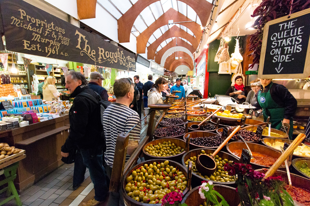 English Market foodie destination